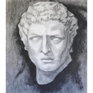 Neoclassical Bust Drawing