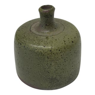 Vintage Moss Green Weed Pot
