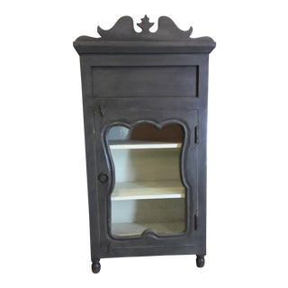 Transition Gray Bedside Table