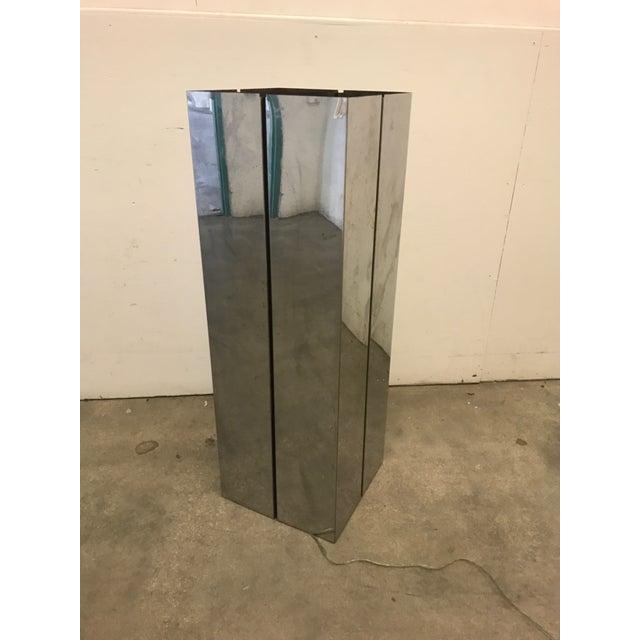 Pace Contemporary Chrome Pedestal - Image 2 of 8