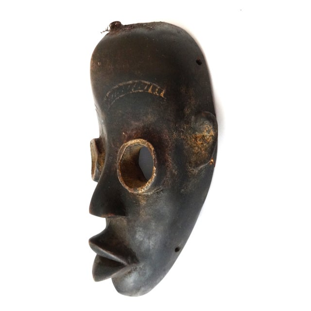Image of African Old Dan Initiation Ceremonial Mask