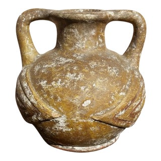 Vintage Handmade Terracotta Vase