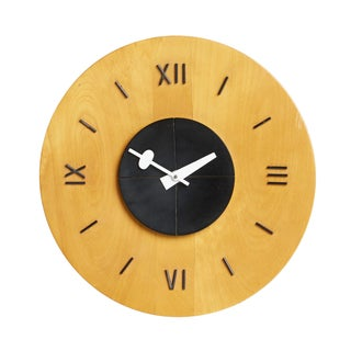 George Nelson Howard Miller Birchwood Wall Clock