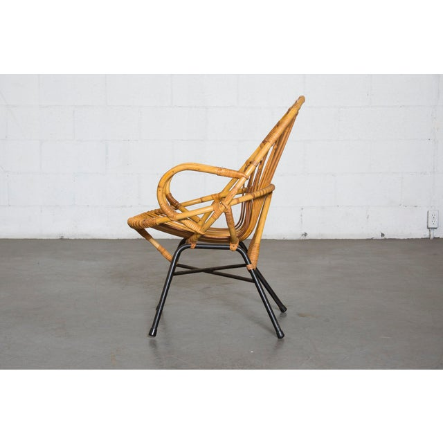 Bamboo Chair With Arms: Rohe Noordwolde Bamboo Hoop Chair With Arms