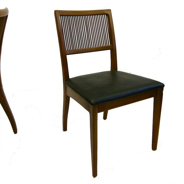 John Van Koert for Drexel Dining Chairs- Set of 8 - Image 3 of 4
