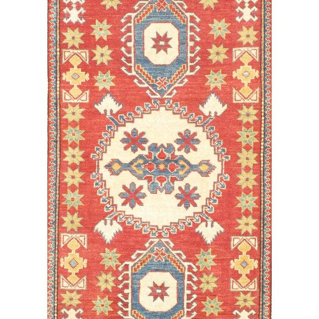 """Image of Red Kazak Rug - 3'8"""" X 5'3"""""""