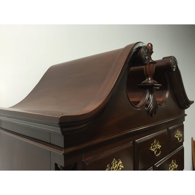 Davis Queen Anne-Style Ball & Claw Highboy - Image 9 of 11