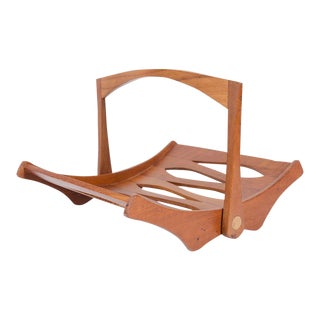 Jens Quistgaard for Dansk Staved Teak Magazine Rack