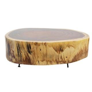 Monkey Pod Slice Coffee Table