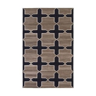 Madeline Weinrib Westley Thunder Cotton Rug 8'x10'