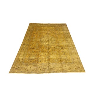 Persian Gold Tabriz Rug - 10' x 13'