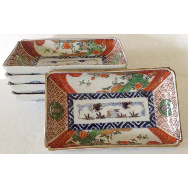 Japanese Imari Serving Plates - Set of 5 - Image 2 of 4