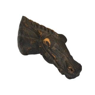 HORSE HEAD TRADE SIGN, LAST QUARTER 19TH CENTURY