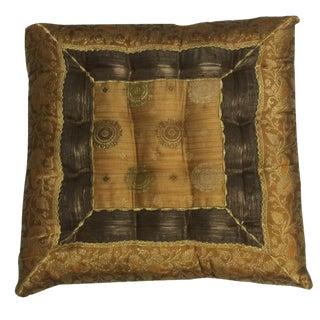 Vintage Bohemian Trim Patch Yoga Pillow