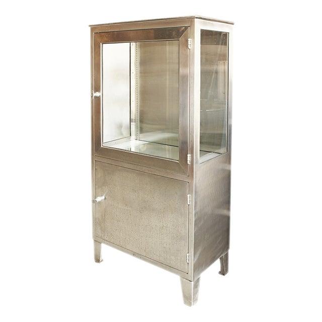 Image of Vintage Stainless Steel Medicine Cabinet