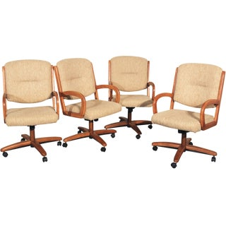 Chromcraft Swivel Tilt and Rolling Game Chairs