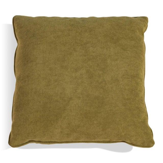 Sarreid LTD Caprice Truffle Square Pillows - A Pair - Image 2 of 3