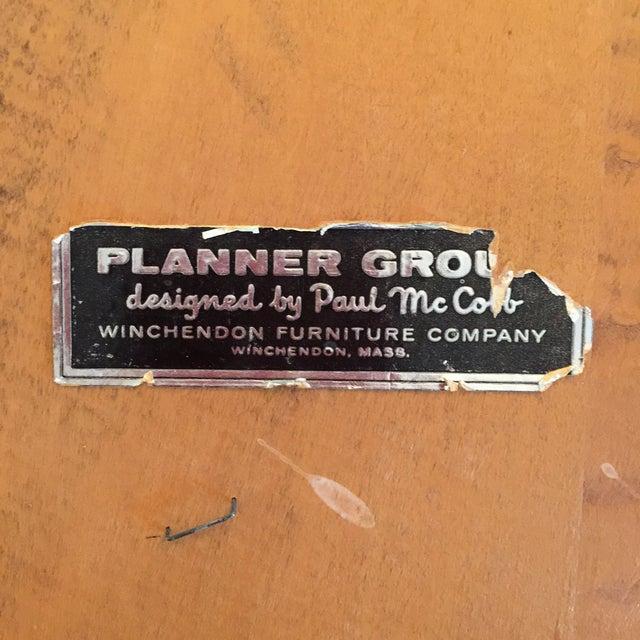 Paul McCobb for Planner Group Maple Desk & Chair - Image 11 of 11