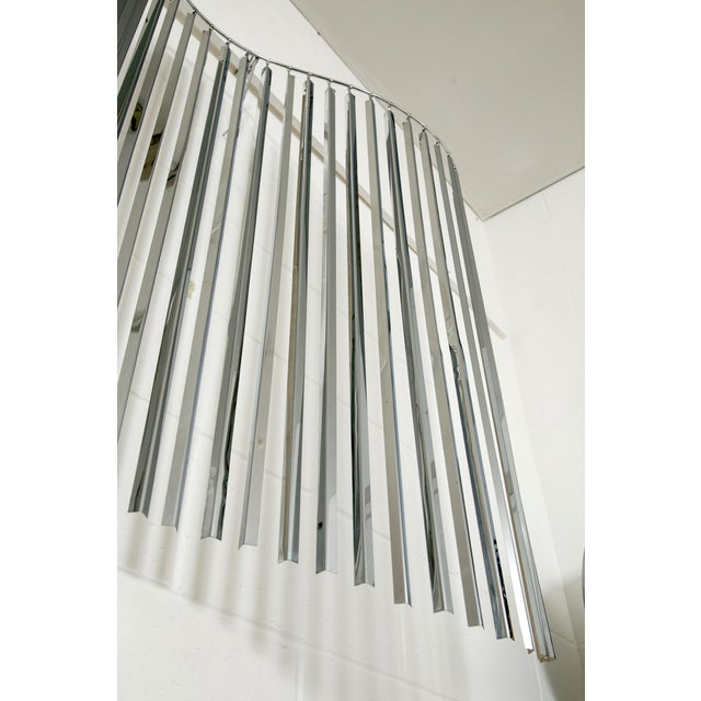 Curtis Jere Silver Kinetic Wall Hanging - Image 7 of 9