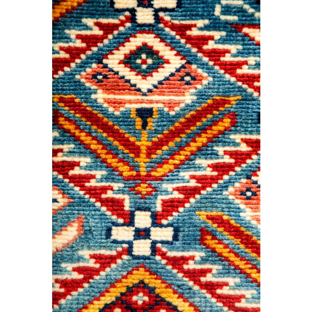 """New Traditional Hand Knotted Area Rug - 4'4"""" x 5'10"""" - Image 3 of 3"""