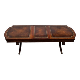 Regency Style Expandable Coffee Table