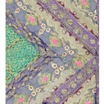 Image of Purple and Green Multi-Purpose Hand-Worked Panel