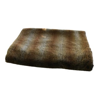 Williams-Sonoma Faux Fur Throw