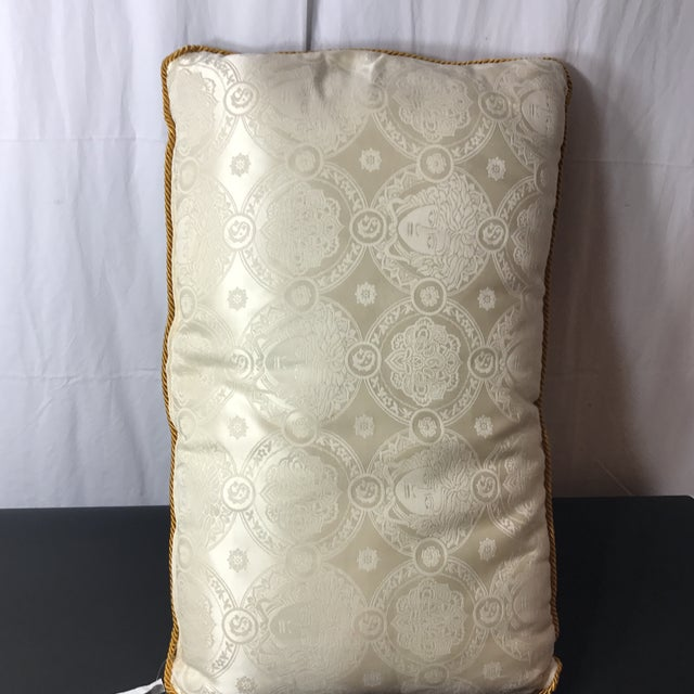 Versace Silk Pillow Cover - Image 6 of 7