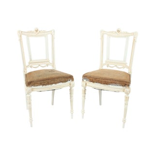 French Louis XVI Chairs - A Pair