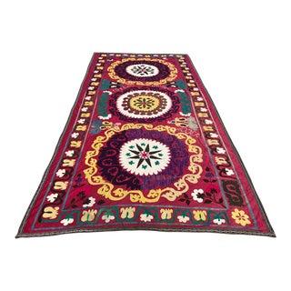 1975 Handmade Suzani Bedspread