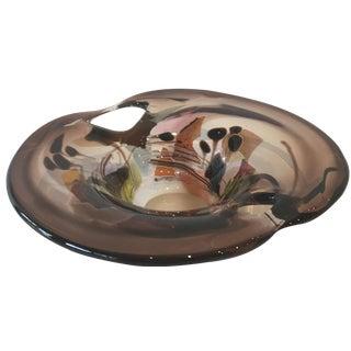 Marlene Keller Art Glass Bowl