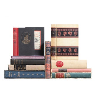 Slipcased Book Selections - Set of 10