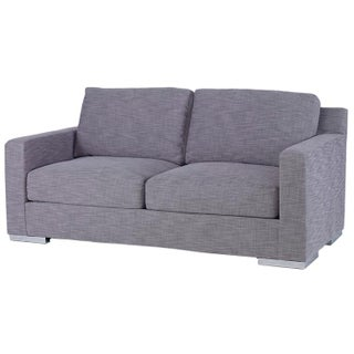 Kravet Jazz Gray Upholstered Loveseat