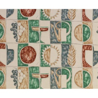 Estate (Summer) Fabric by Gio Ponti