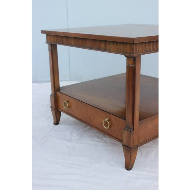 1960s Baker Tiered Nightstands - A Pair - Image 8 of 9