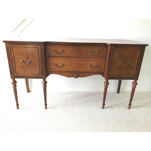 Vintage Detailed Wood Sideboard - Image 2 of 10