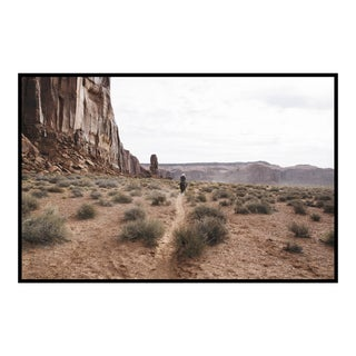 """Cowboy in Monument Valley"" Original Framed Photograph"