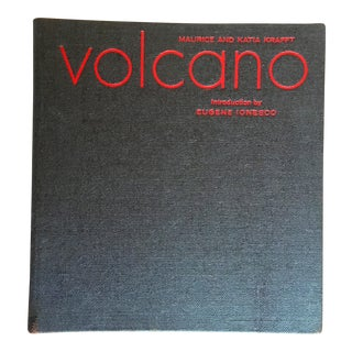 Volcano by Maurice and Katia Krafft