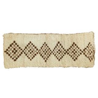 "Vintage Moroccan Rug Runner - 2'4"" X 6'"