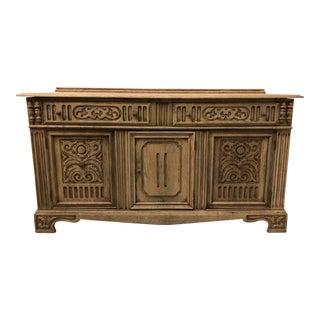 Antique English Oak Sideboard