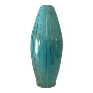 Italian Mid-Century Glazed Terra-Cotta Vase