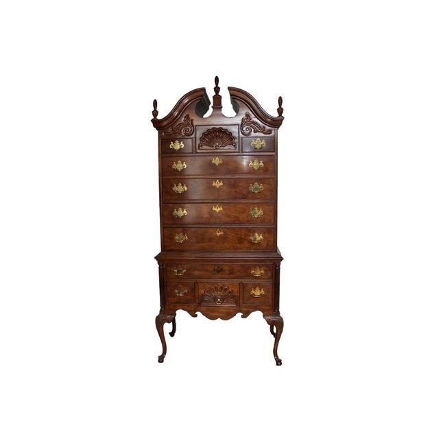 Thomasville mahogany collection highboy chairish - Thomasville mahogany collection bedroom ...