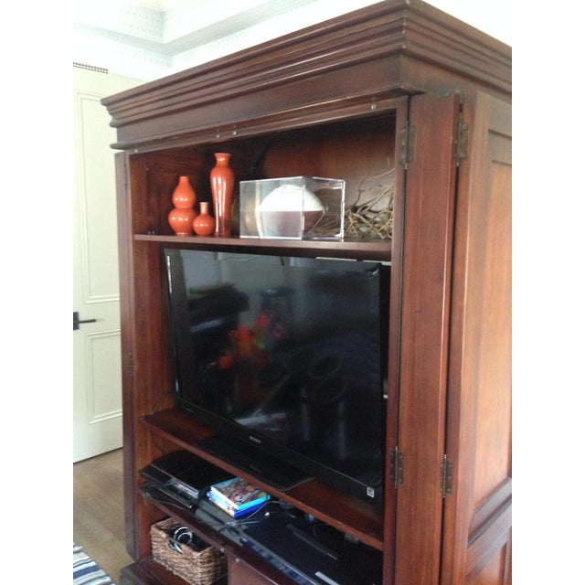 Classic Wood Armoire/Wardrobe - Image 8 of 10