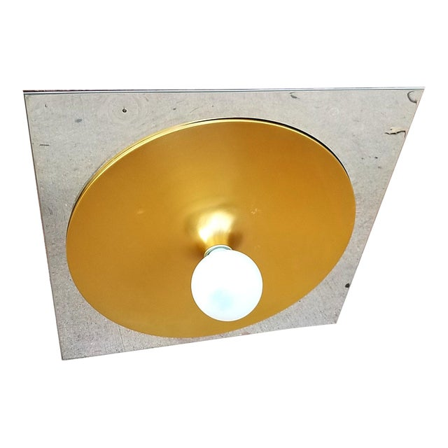 Lightolier Mod Space Age Ceiling or Wall Fixture - Image 1 of 9