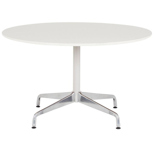 Eames Herman Miller Round Dining Table - Image 1 of 5