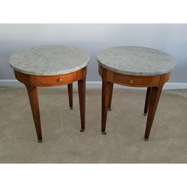 Baker Signature Bouillotte Tables - A Pair - Image 6 of 8