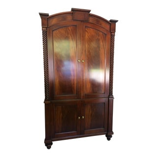 Hickory Chair Cherry Armoire/Wardrobe Cabinet