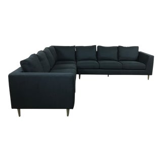 Modern Navy Sectional Sofa