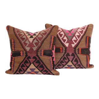 Turkish Kilim Cushions - Pair