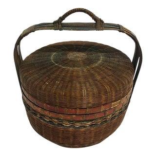 Qing Dynasty Wedding Basket